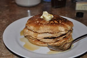 Whole Wheat Pancakes – Yummy good!