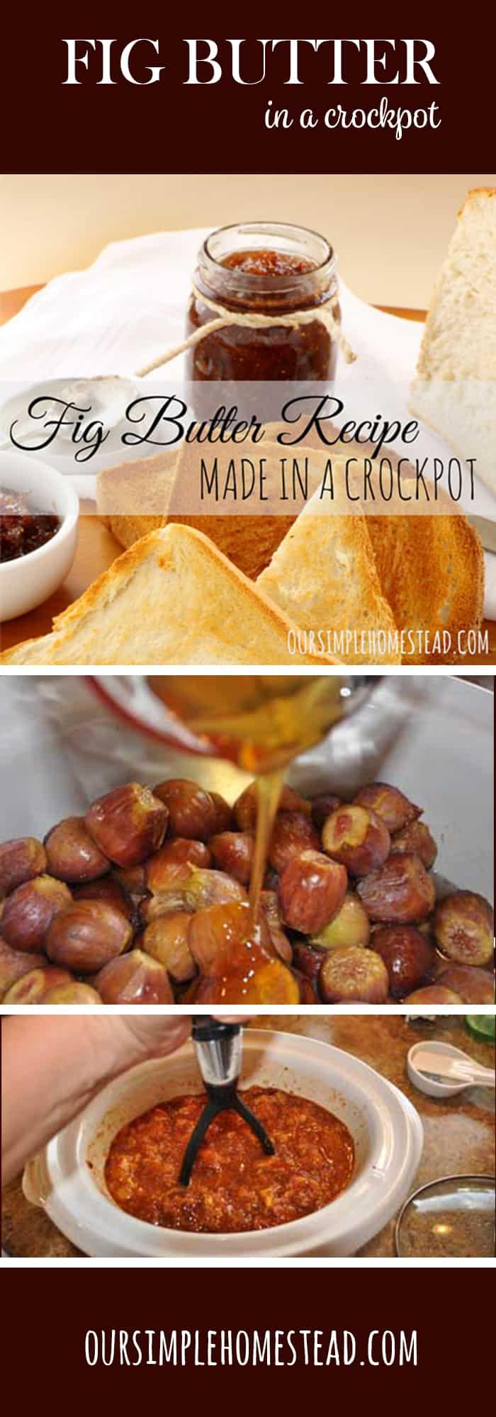 Fig Butter Recipe