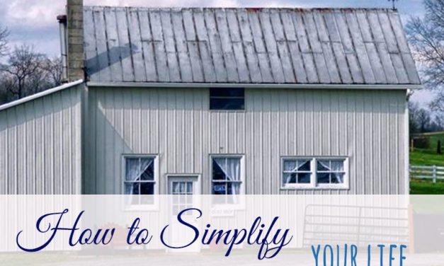How to Simplify Your Life – Amish Style