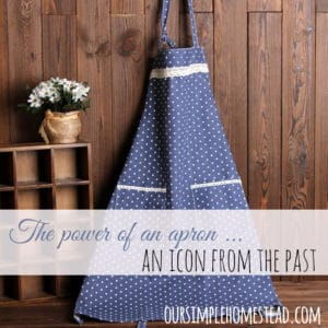The power of an apron