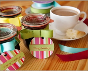'Sweet' finds…homemade canning labels