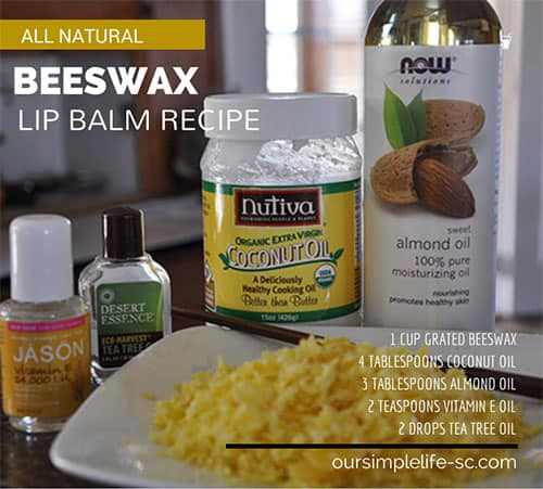 Beeswax lip balm recipe that keeps my lips soft