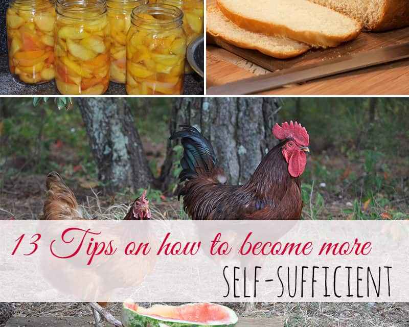 13 Tips on How to Become More Self-Sufficient