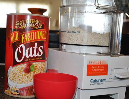 homemade oat powder