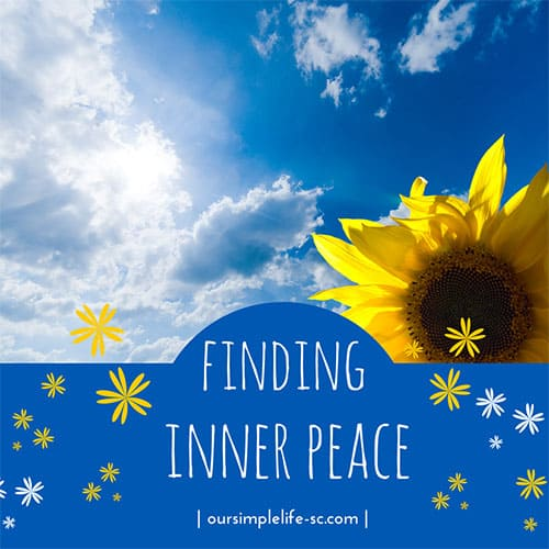 Finding inner peace within yourself