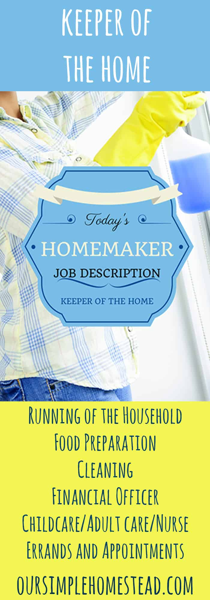 homemaker job description
