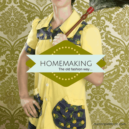 Old Fashion Homemaking Tips