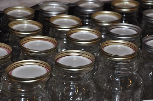 prepare your canning jars