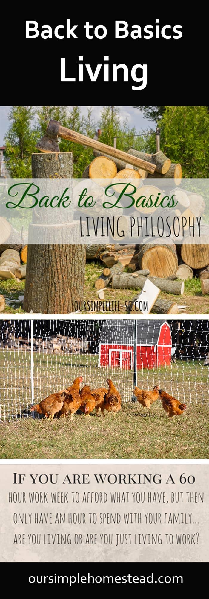 Back to Basics Living