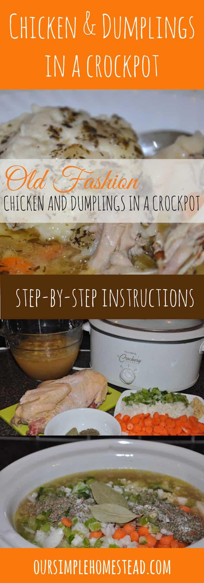 crockpot chicken and dumplings recipe