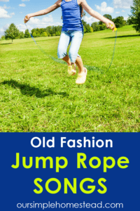 jump rope songs