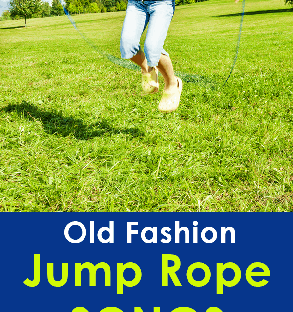 Old Fashion Jump Rope Songs – Memories from the past!