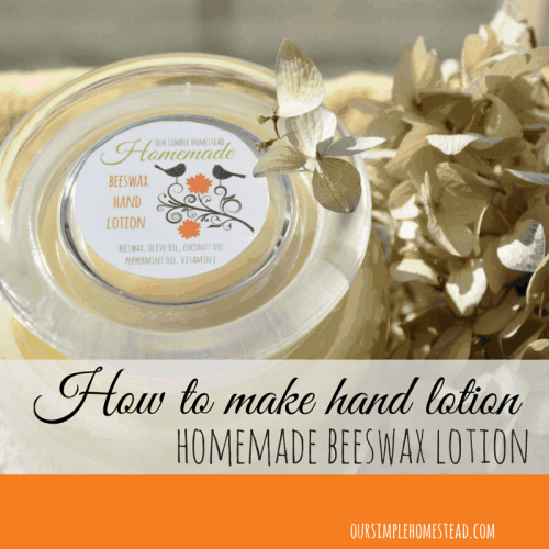 How to Make Hand Lotion – 5 Easy Steps