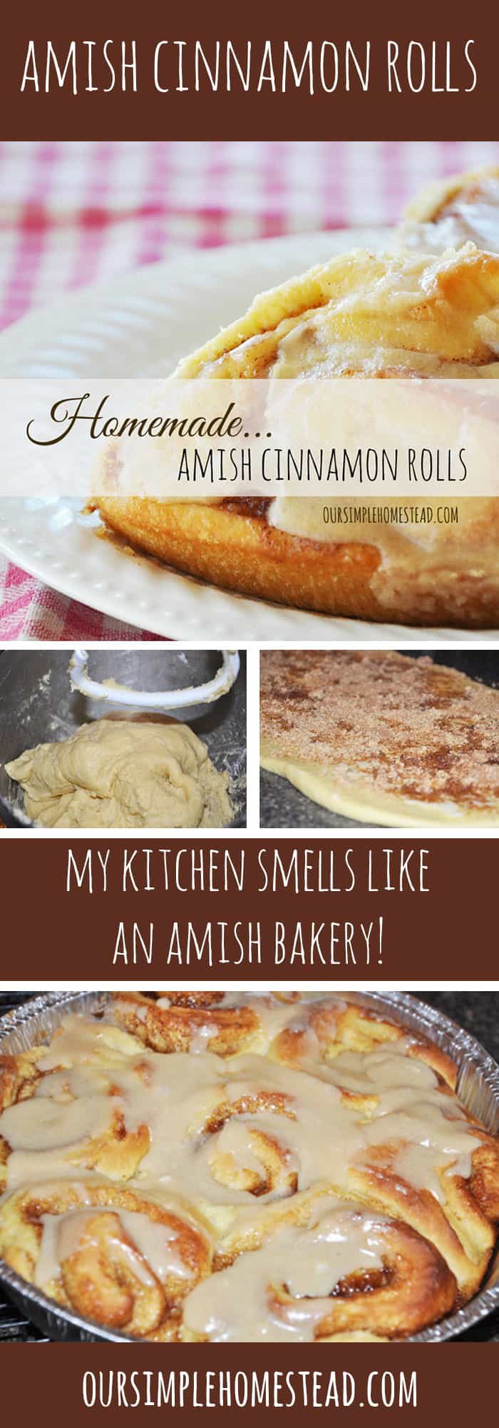 Amish Cinnamon Rolls Recipe