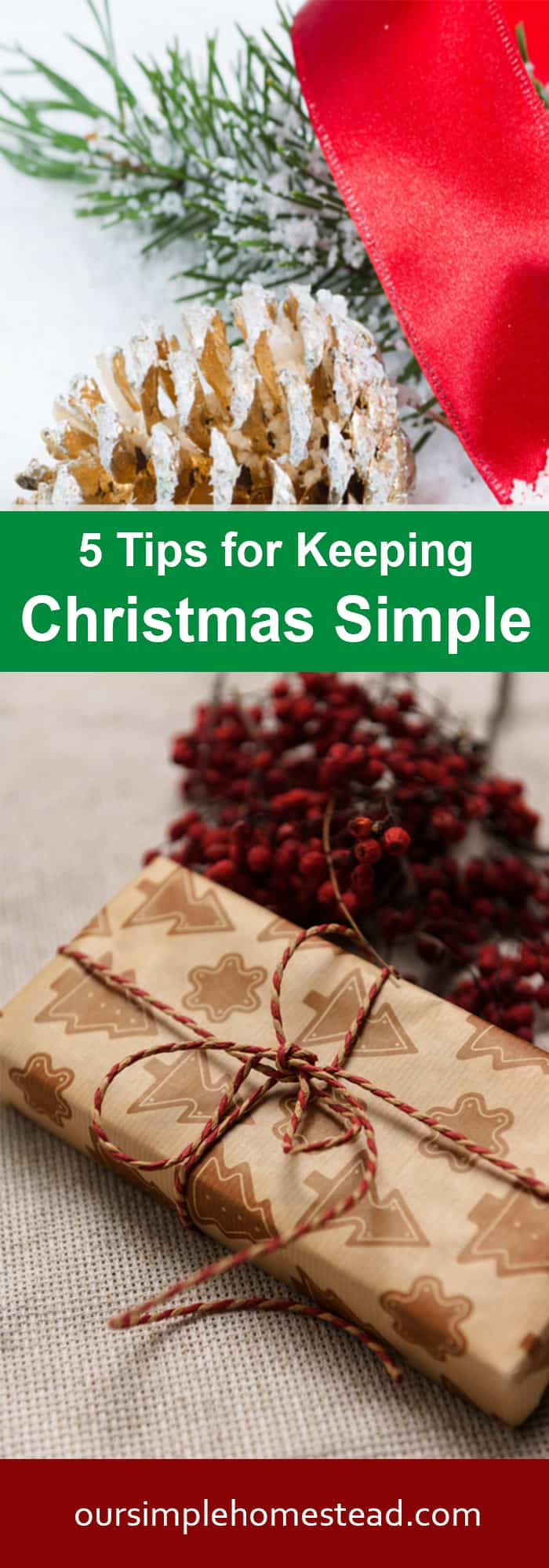 5 Tips for Keeping Christmas Simple