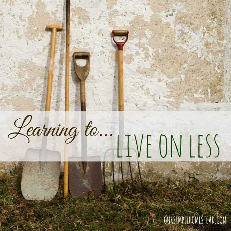 Learn to Live on Less – A Simpler Lifestyle