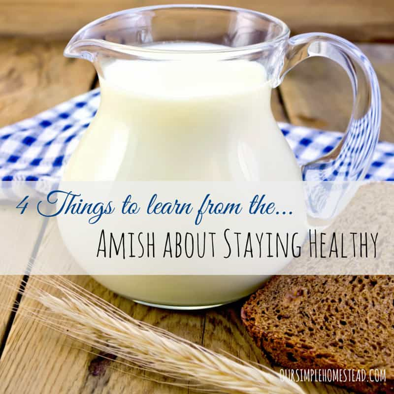 4 Things to Learn from the Amish about Staying Healthy