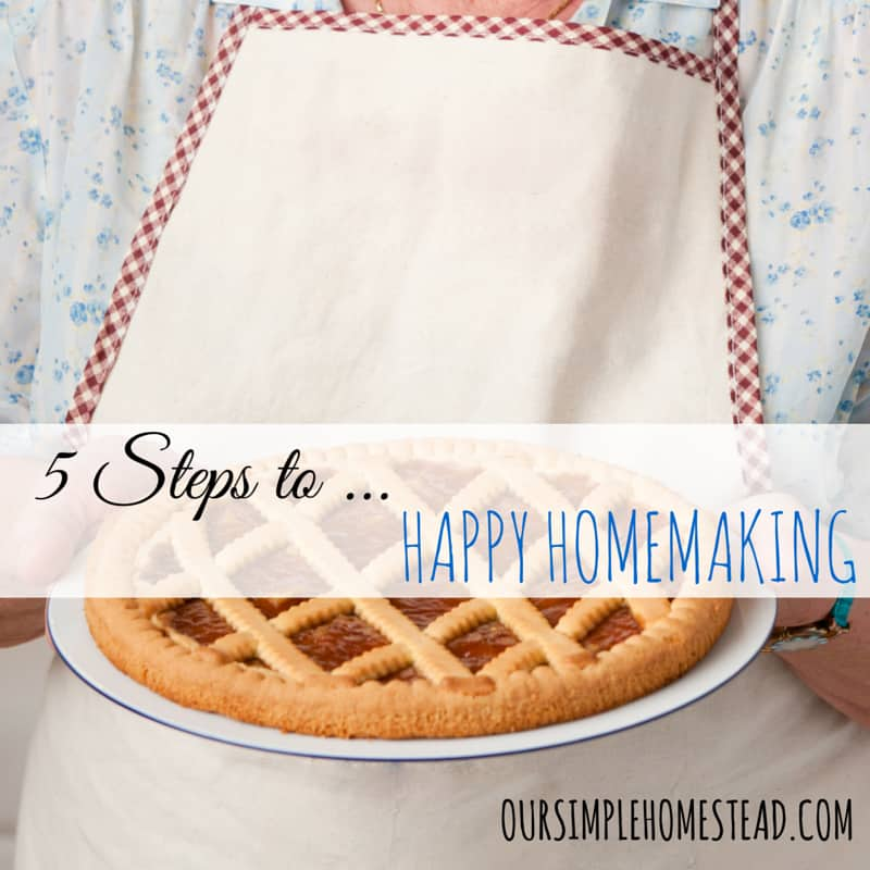 happy homemaking