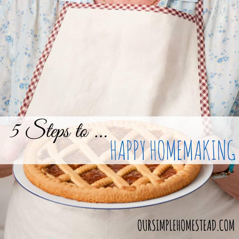 happy homemaking