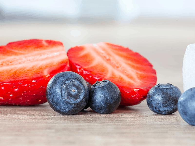 Strawberry Blueberry Pie from my Farmhouse Kitchen