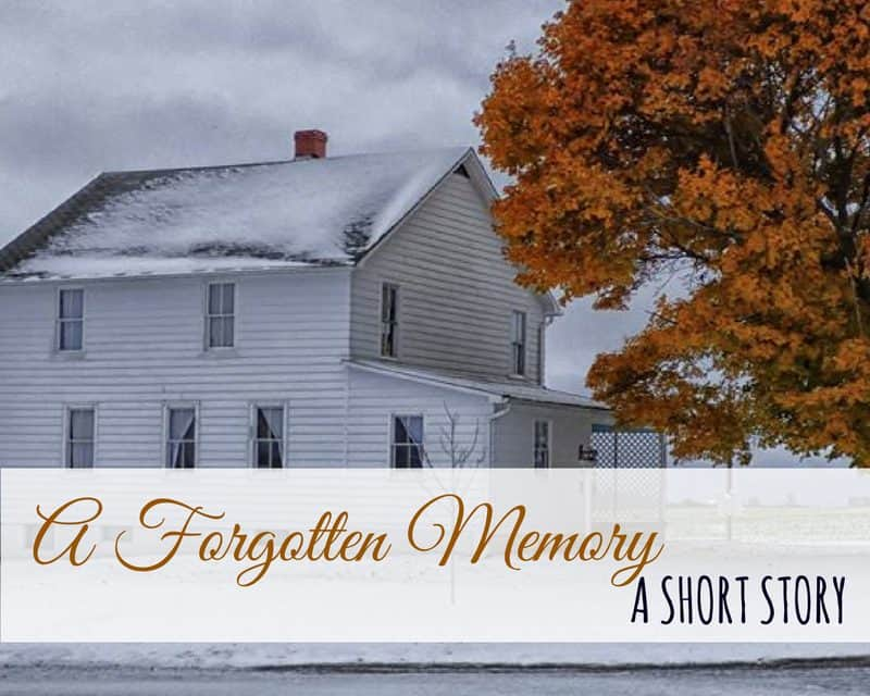 Amish Lifestyle Short Story – A Forgotten Memory