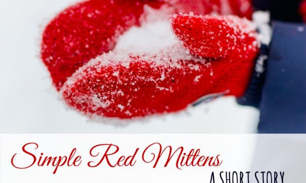 Amish Short Story – Simple Red Mittens