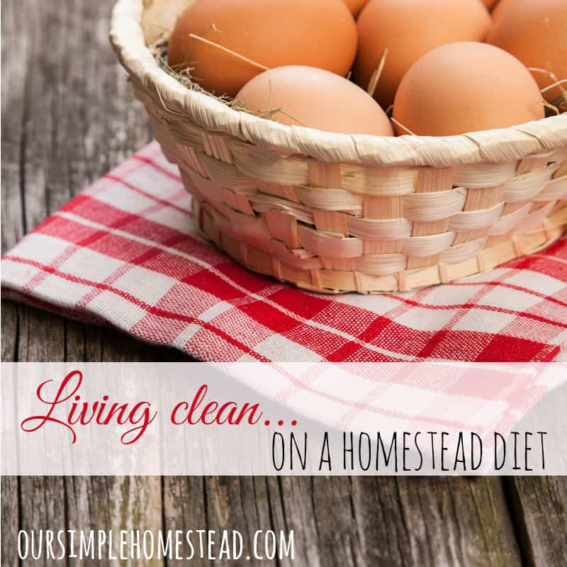 Clean Living - A Homestead Diet