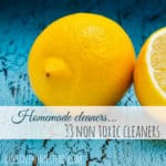 Homemade Cleaners - Non Toxic All Natural Cleaner