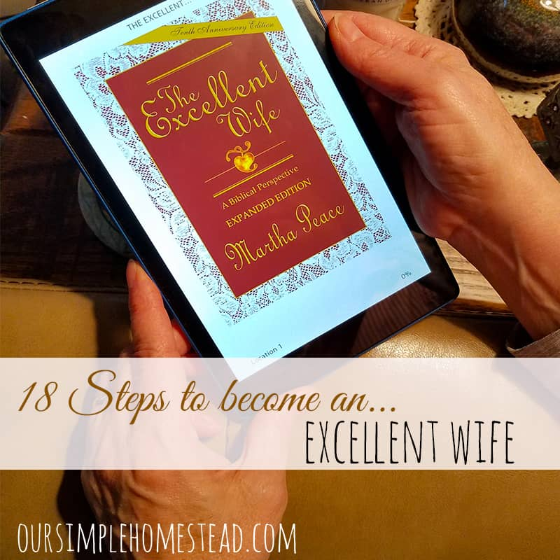 18 Steps to Become an Excellent Wife