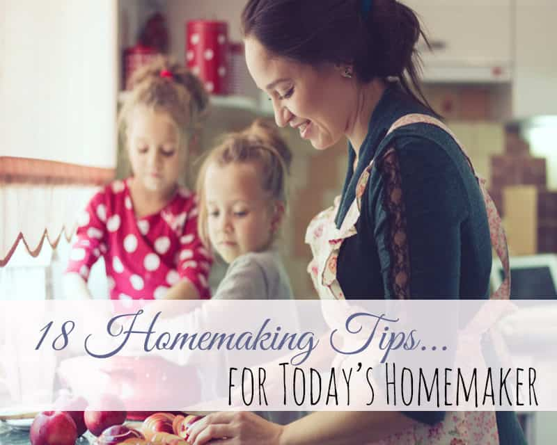 18 Homemaking Tips for Today's Homemaker on christmas tips, boxing tips, housekeeping tips, quilting tips, golf tips, internet tips, science tips, work tips, grooming tips, beauty tips, traveling tips, accounting tips, diy tips, literacy tips, education tips, shopping tips, networking tips, cleaning tips, blogging tips, management tips,