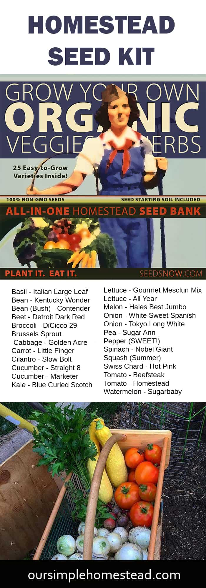 homestead seed kit